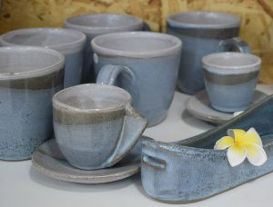 ceramic cups in different sizes