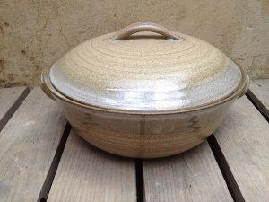 handmade ceramic Casserole