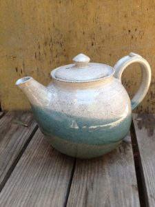 handmade ceramic kettle